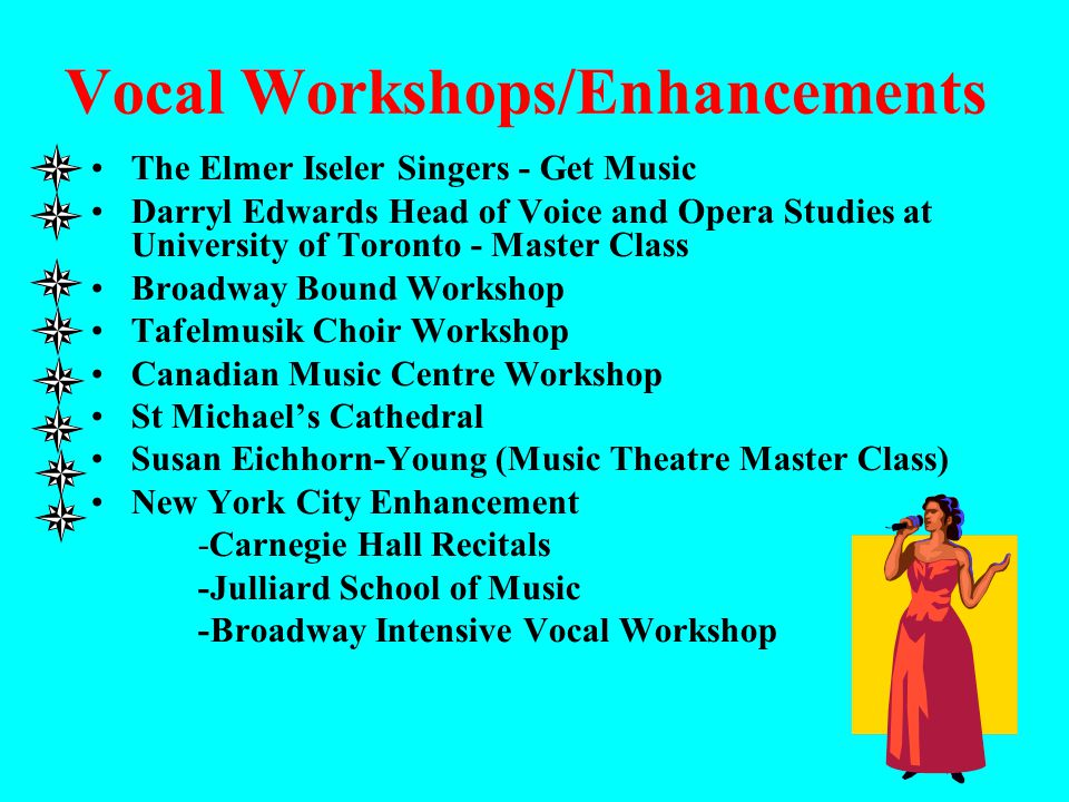 Vocal Workshops/Enhancements