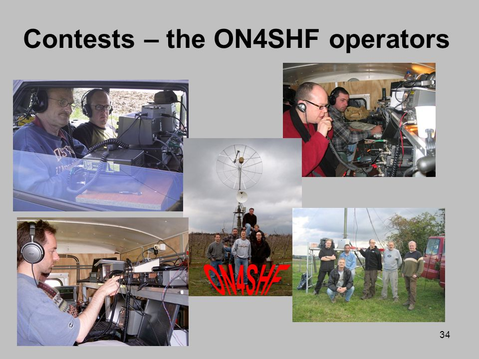 Contests – the ON4SHF operators