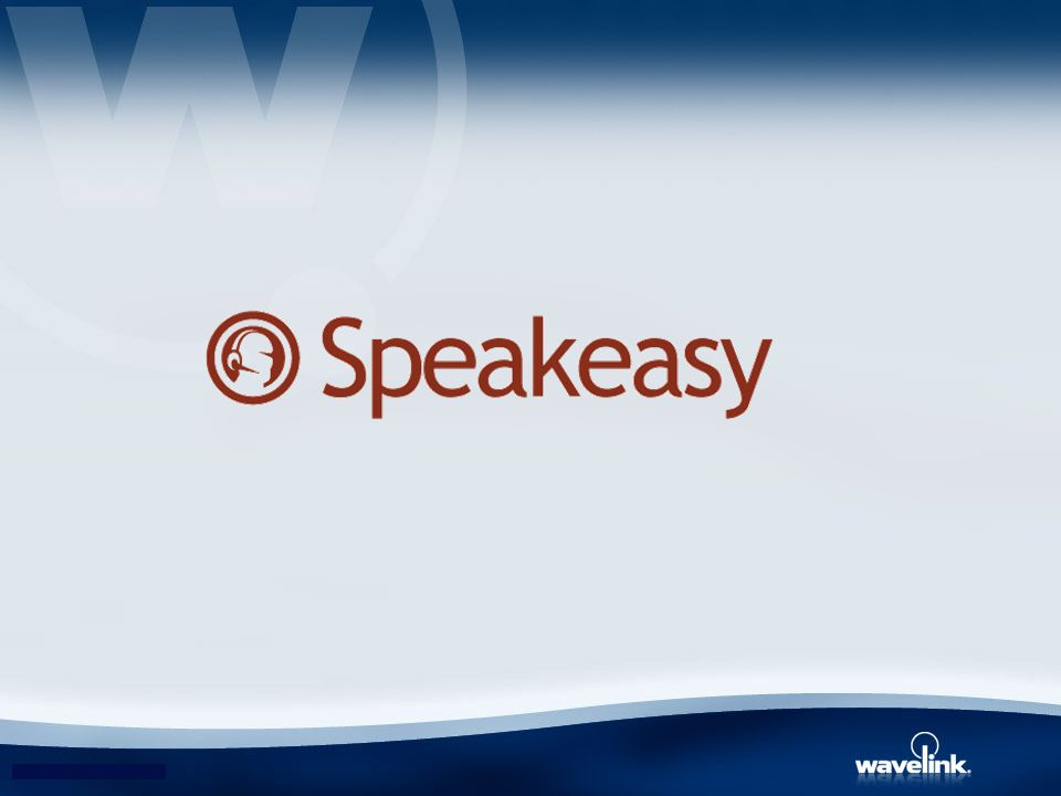 Speakeasy is a 100% client-side voice-enabling platform that delivers the ability to voice enable a wide range of existing mobile applications quickly and easily.