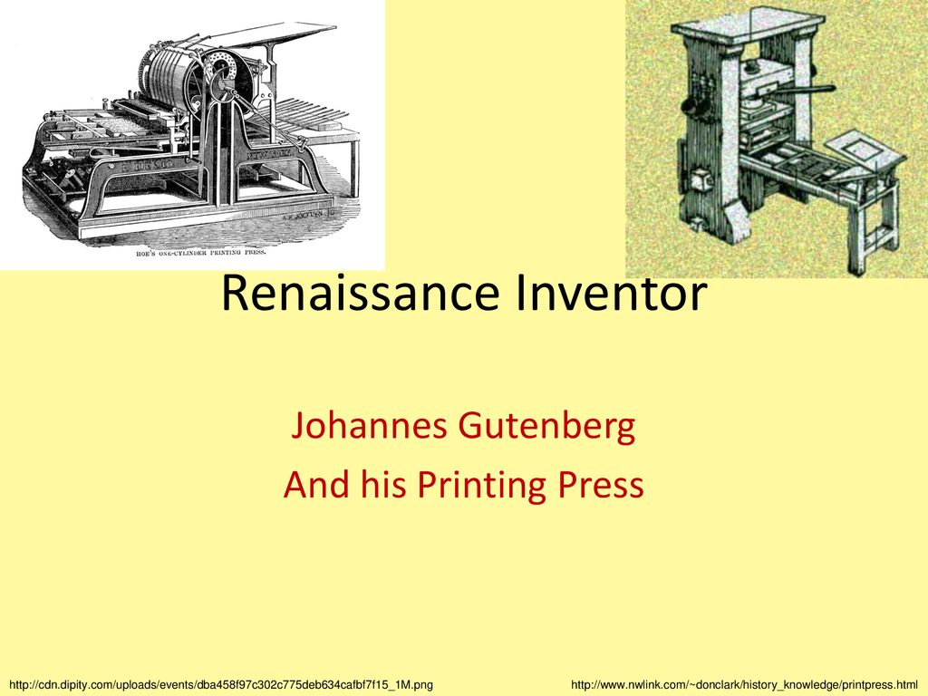 Johannes Gutenberg And his Printing Press - ppt download