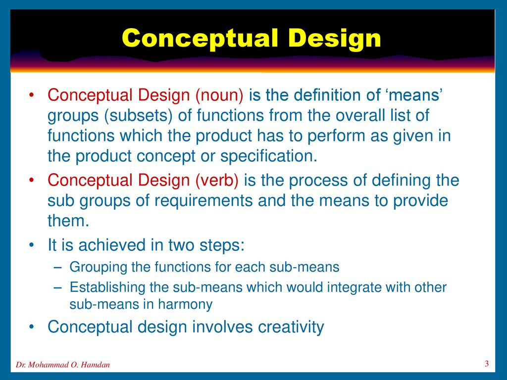 Conceptual Design Components And Ethics Ppt Download,Portfolio Cover Page Design For Teachers