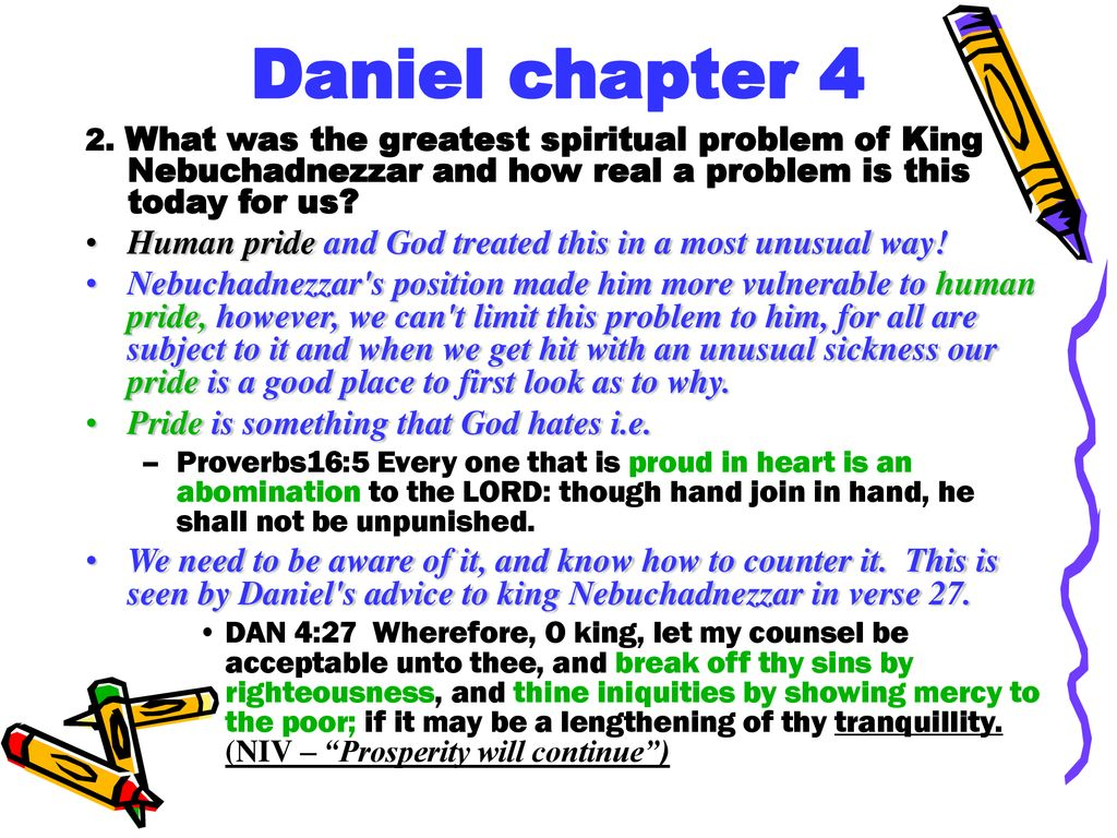 Daniel chapter 4 Questions and Answers  - ppt download