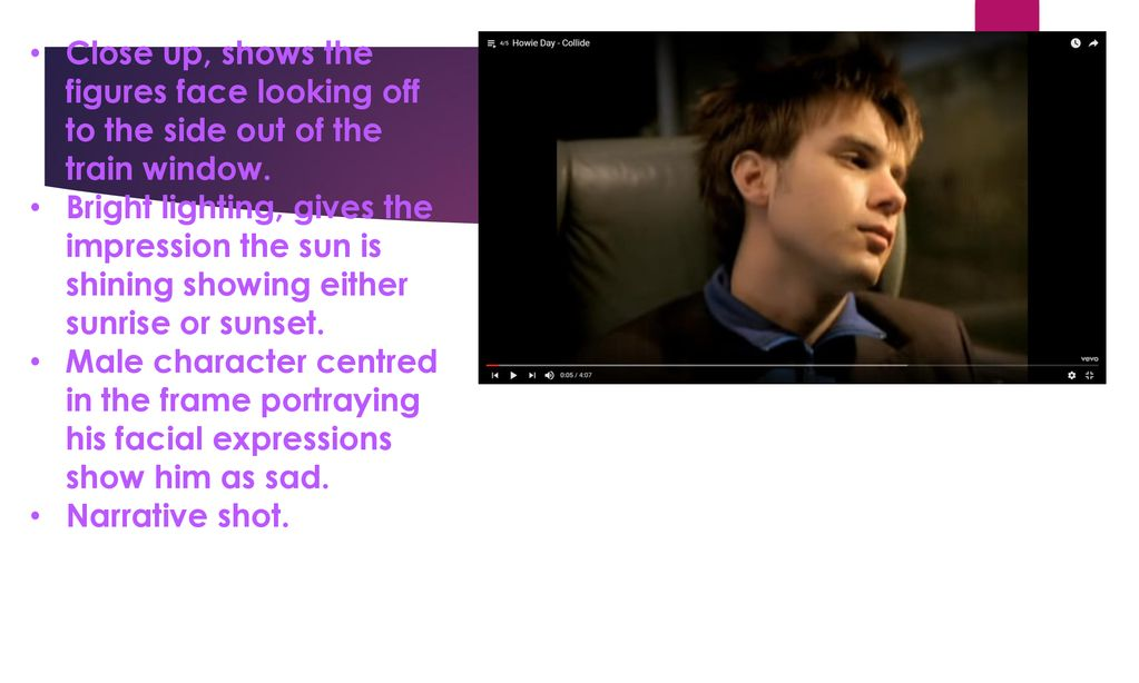 Howie Day Collide Music Video Analysis Ppt Download