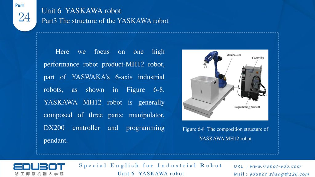 Special English for Industrial Robot - ppt download