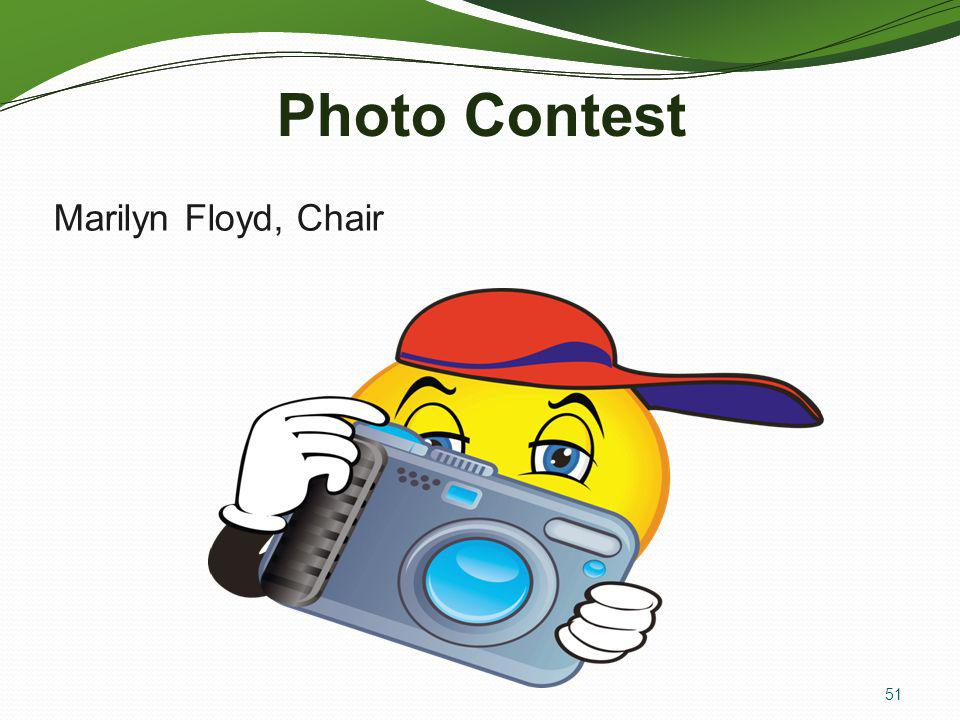 Photo Contest Marilyn Floyd, Chair ALL AT ONCE