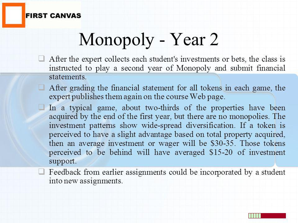 Monopoly - Year 2