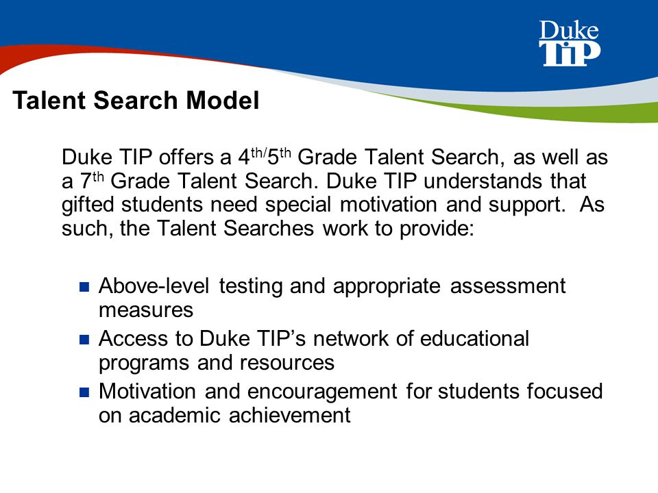 Talent Search Model