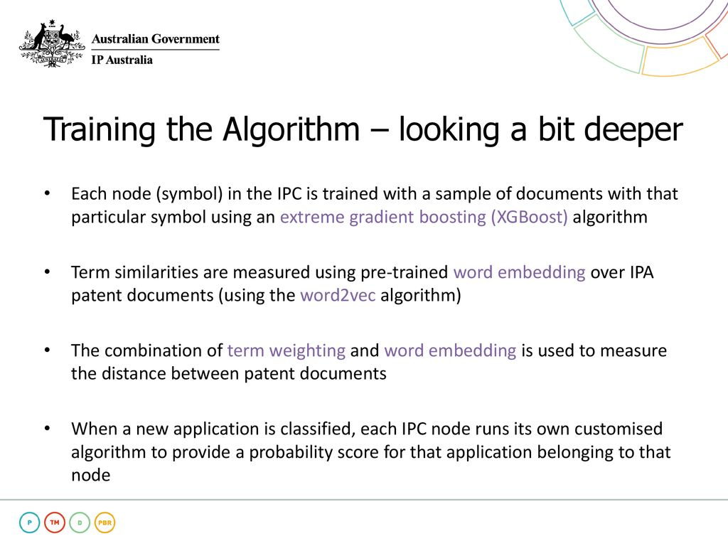 Machine Learning Assisted IPC-based Sorting at IP Australia - ppt