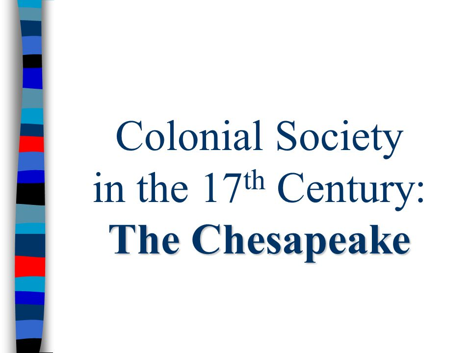 the two distinct societies of new england and the chesapeake region Although new england and the chesapeake region were both settled largley by the people of english origin, by 1700 the regions had devolved into two distinct societies.