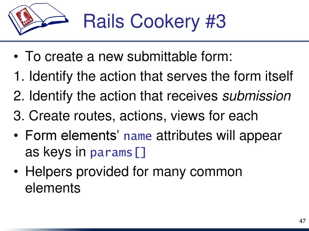 Rails Philip Ritchey slides generously gifted by Jeff Huang