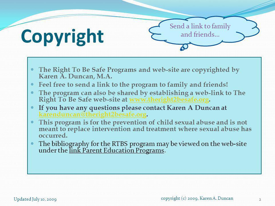 Copyright Send a link to family and friends…