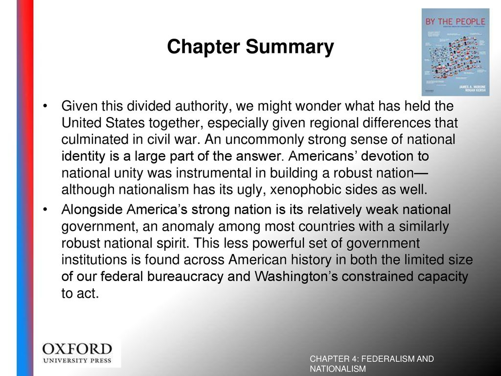 Federalism and Nationalism - ppt download