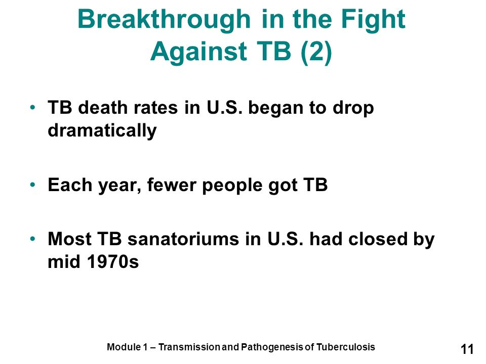 Breakthrough in the Fight Against TB (2)