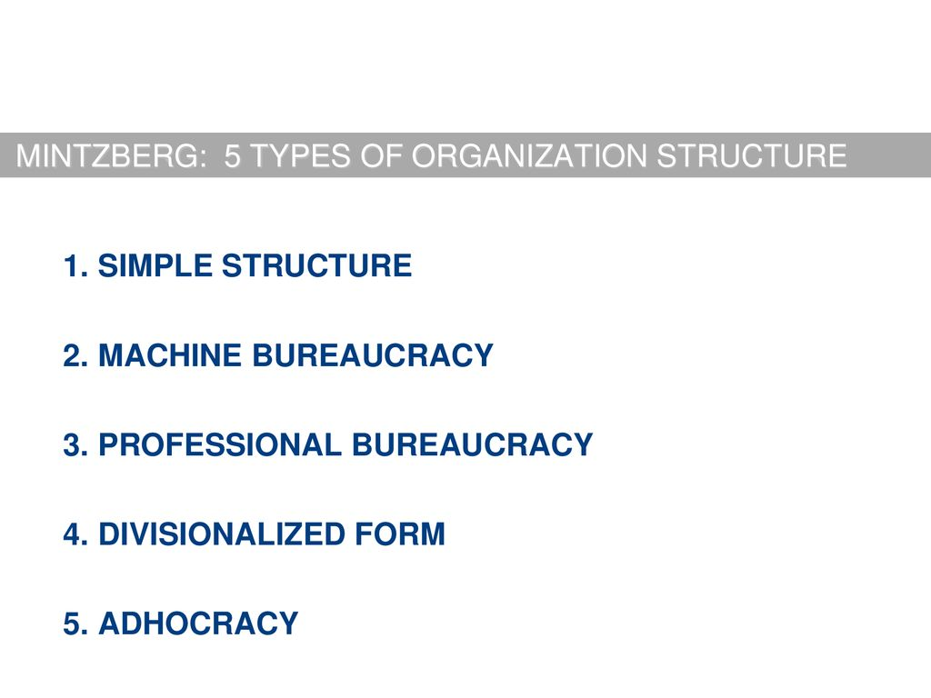 Scientific Management Organizational Structure Ppt Download
