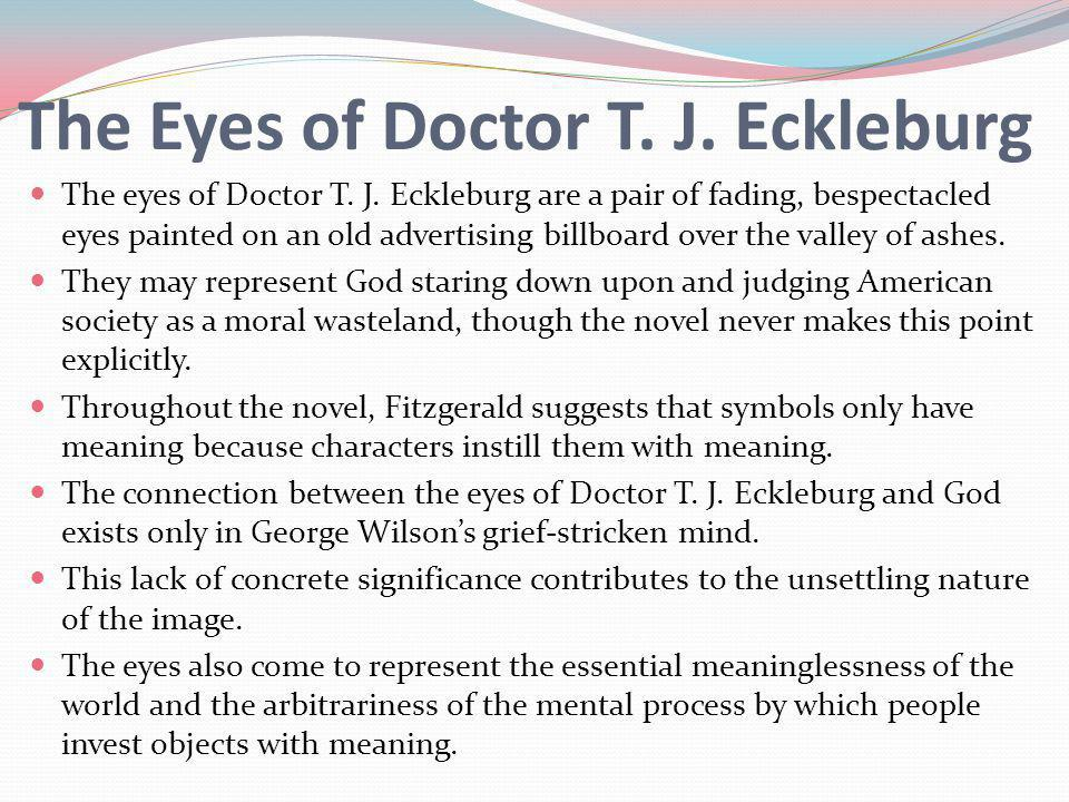 the eyes of doctor tj eckleburg