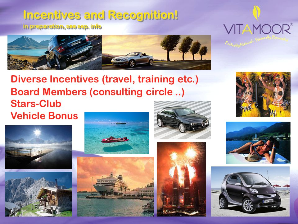 Incentives and Recognition!