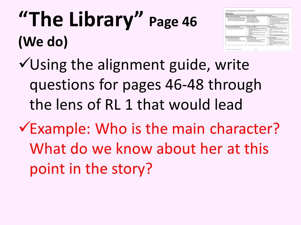 The Library Page 46 (We do)