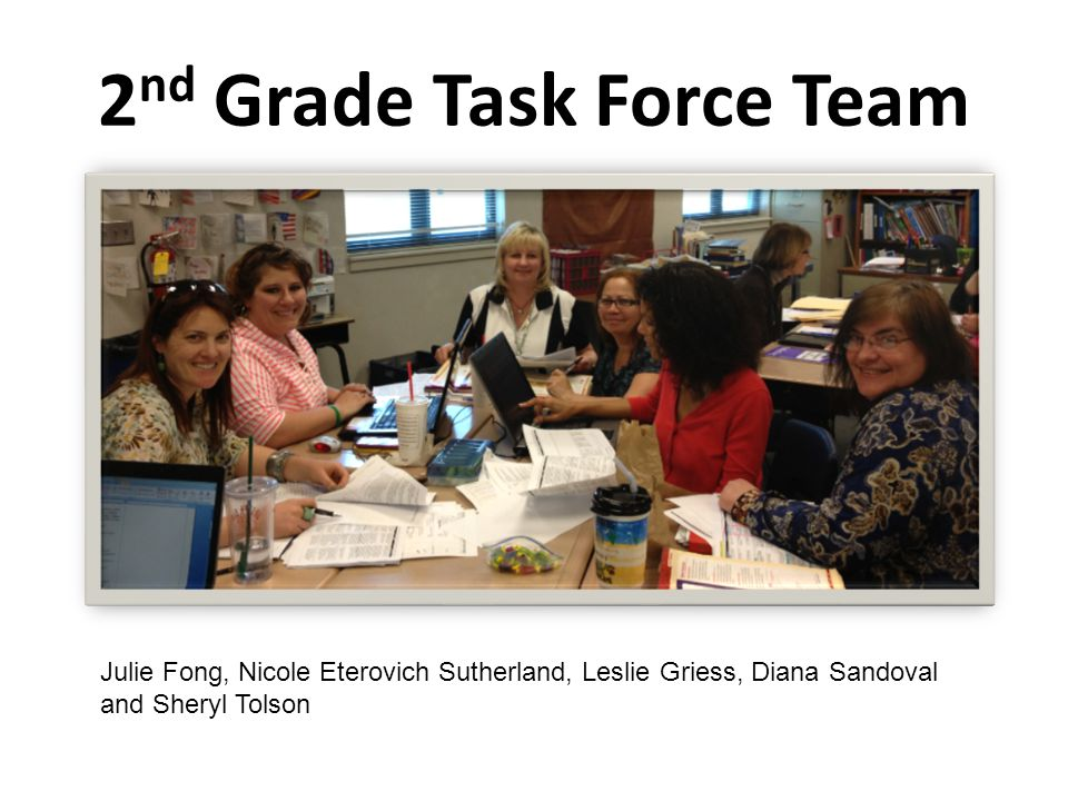 2nd Grade Task Force Team