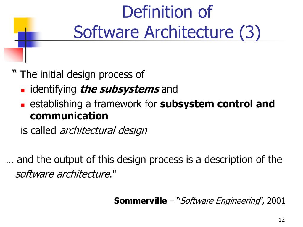 Software Architecture Ppt Download