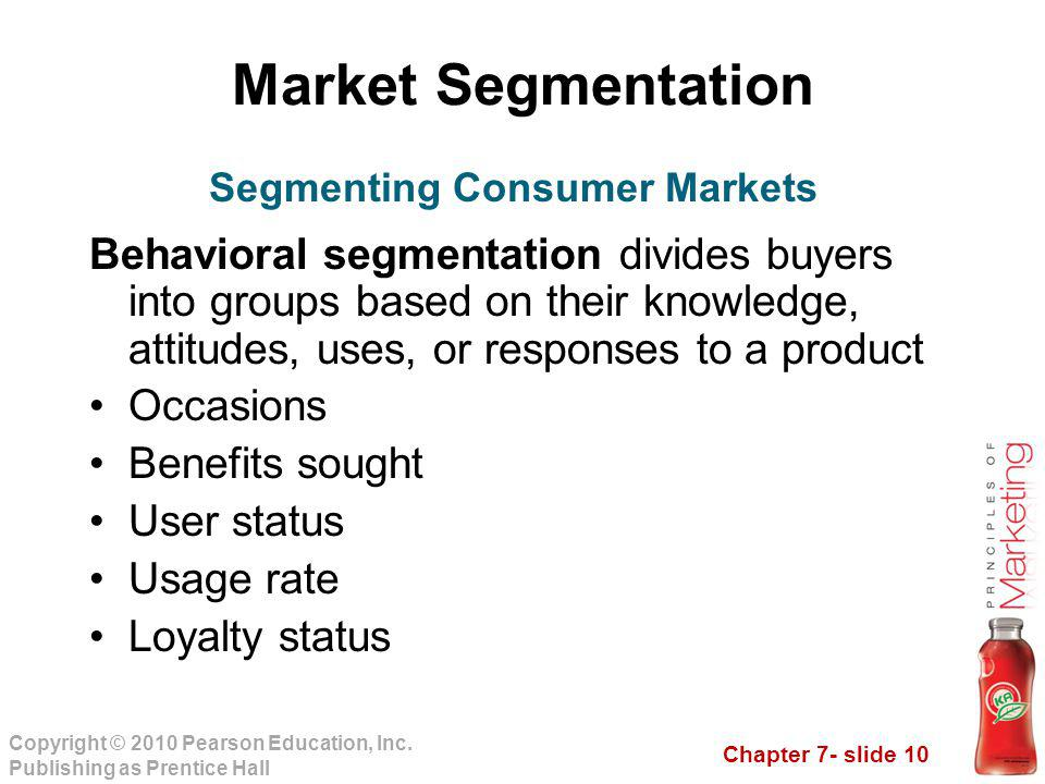 market segmentation and consumer buying behaviour Market segmentation is a process of dividing a potential market into distinct sub-sets of consumers with common needs and characteristics and selecting one or more segments to target with a distinct marketing mix.