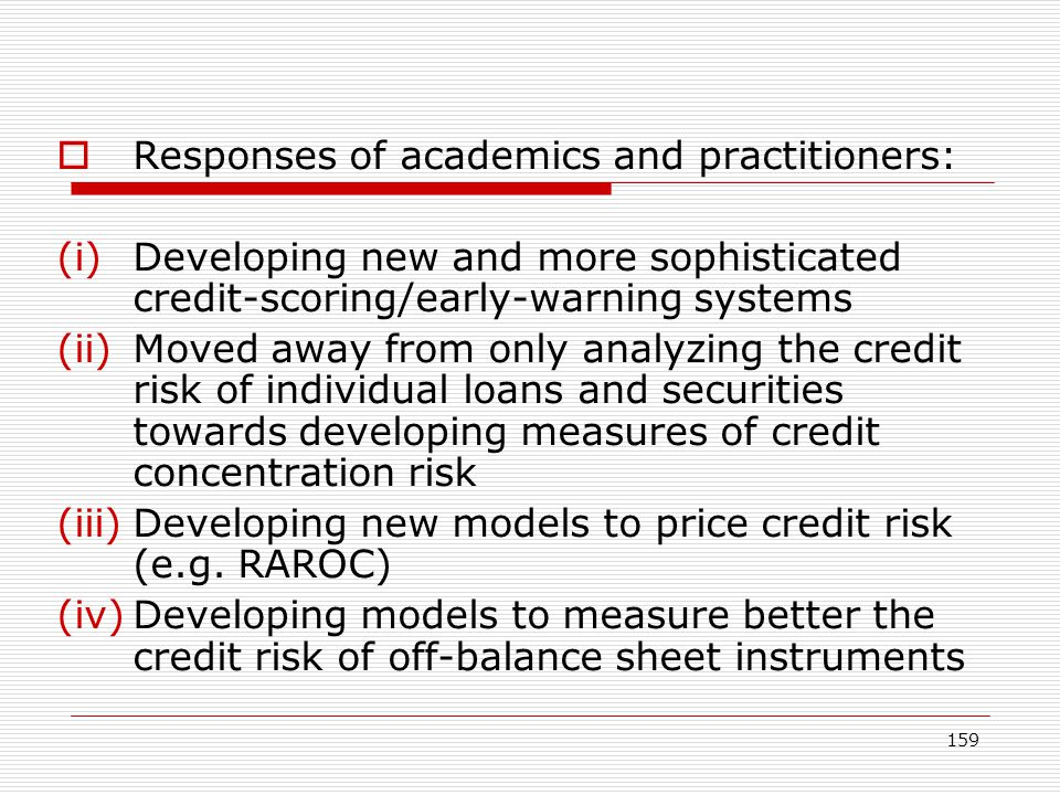 Responses of academics and practitioners: