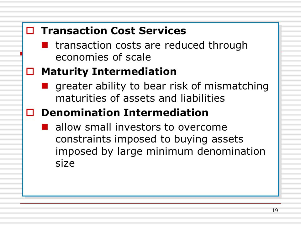 Transaction Cost Services
