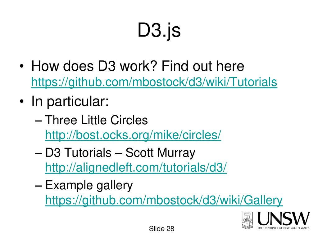 D3 Jsfiddle