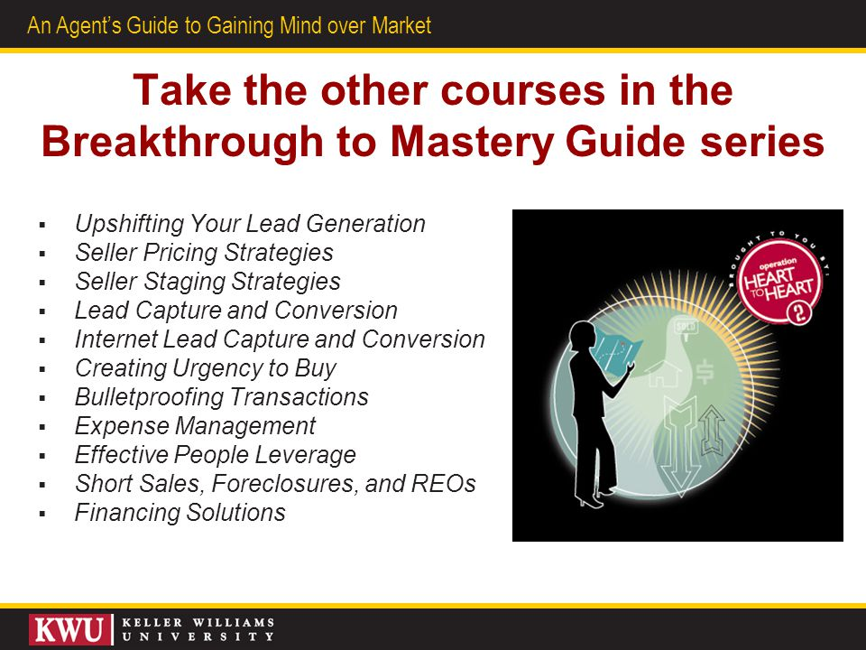 Take the other courses in the Breakthrough to Mastery Guide series