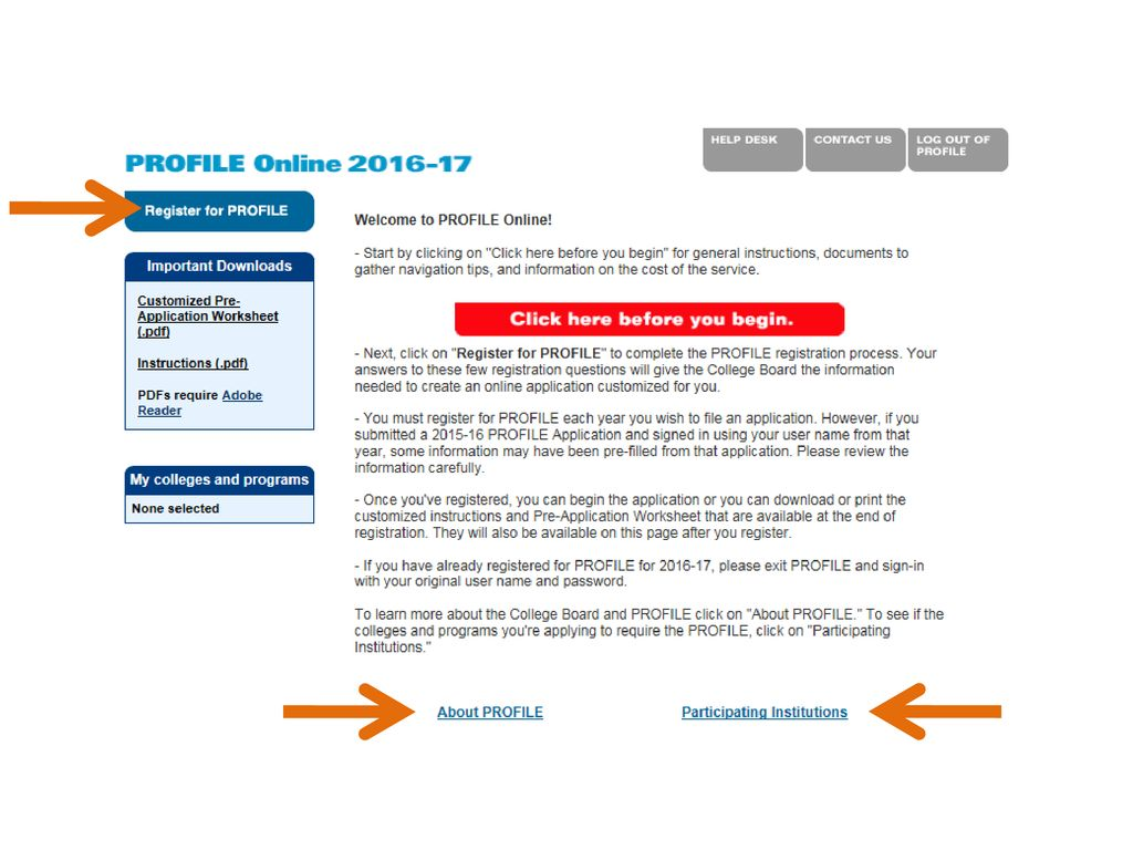 CSS/Financial Aid PROFILE - ppt download