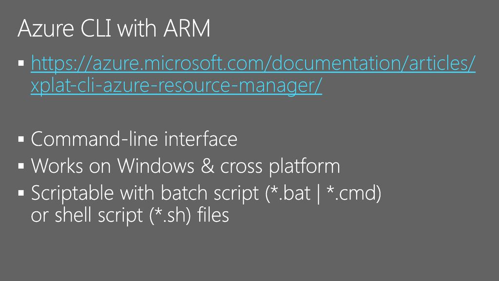Microsoft Azure Managing Users & Resources with Azure