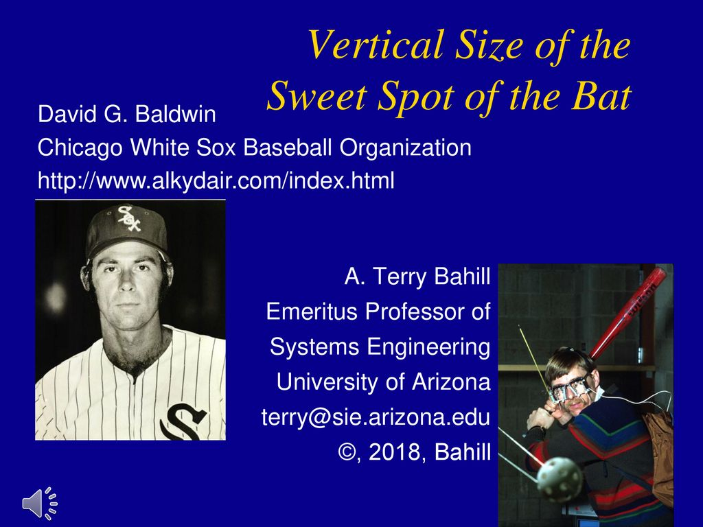 Vertical Size Of The Sweet Spot Bat