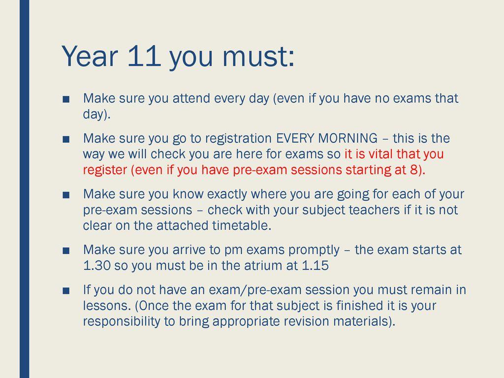 GCSE EXAMS 2018 Until Mon = first GCSE written exam  - ppt