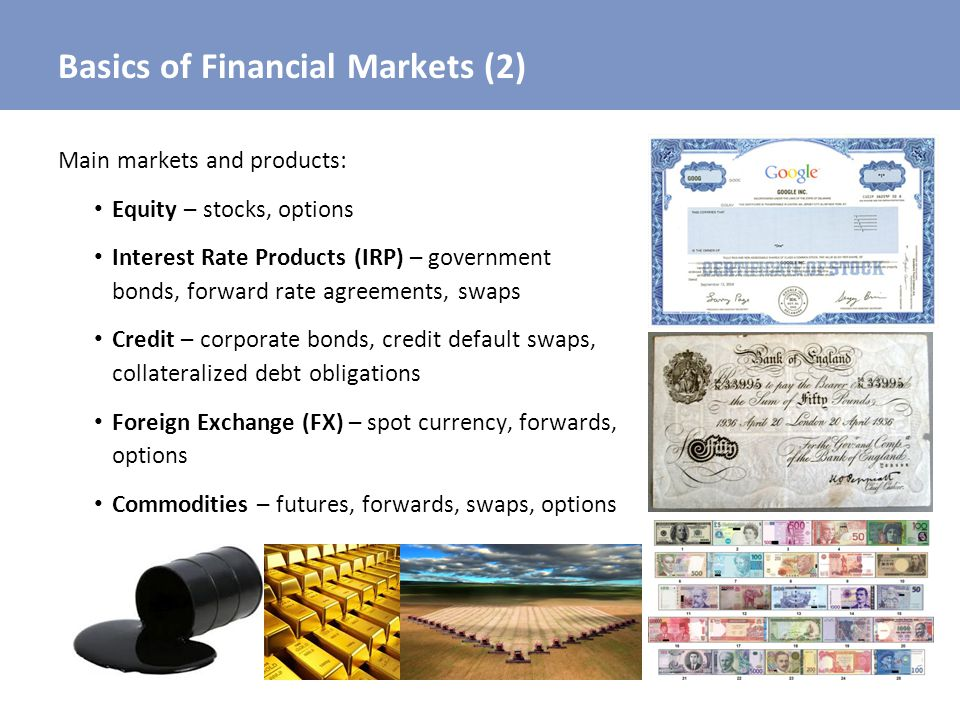 Basics of Financial Markets (2)