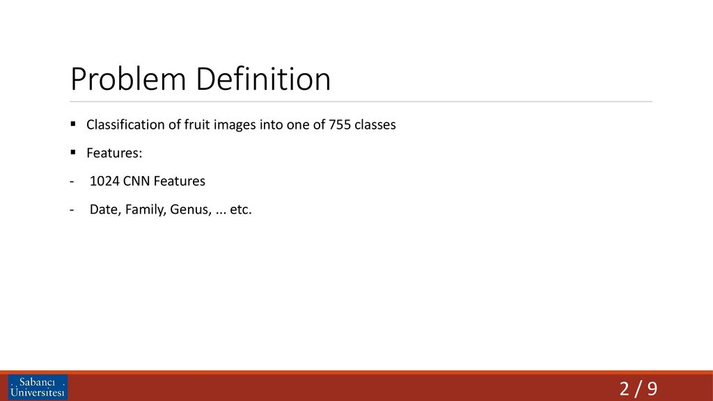 PROJECT: FRUIT IMAGE RECOGNITION - ppt download