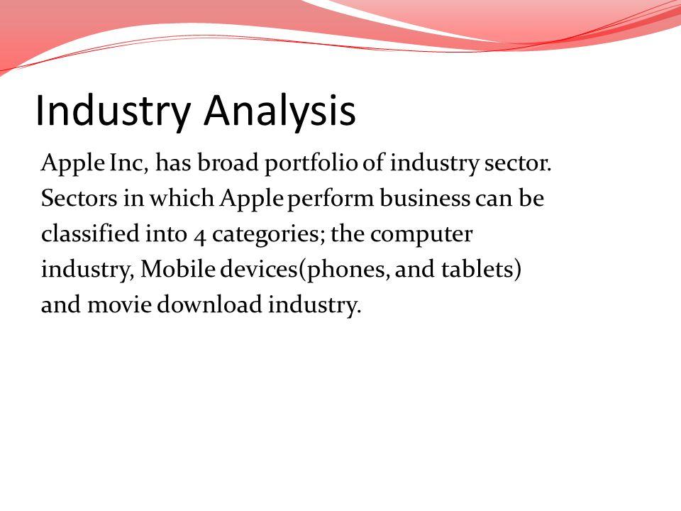 apple inc industry analysis