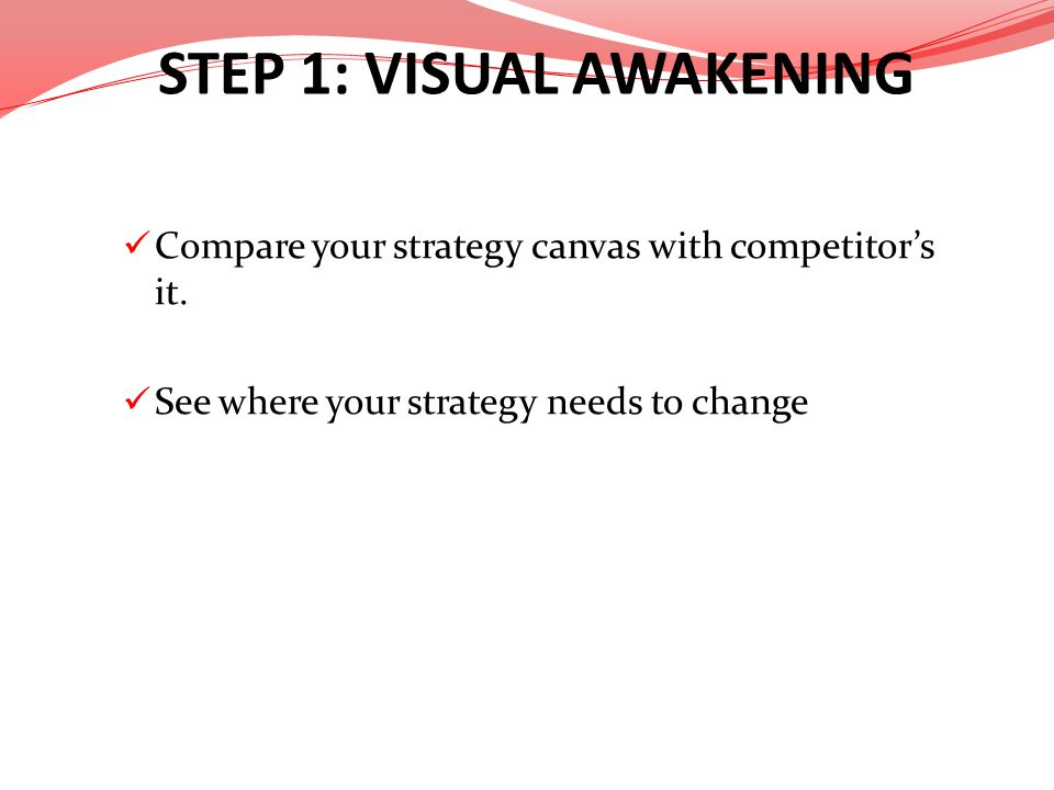 STEP 1: VISUAL AWAKENING
