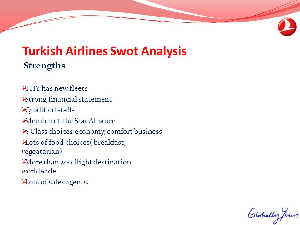 Turkish Airlines Swot Analysis