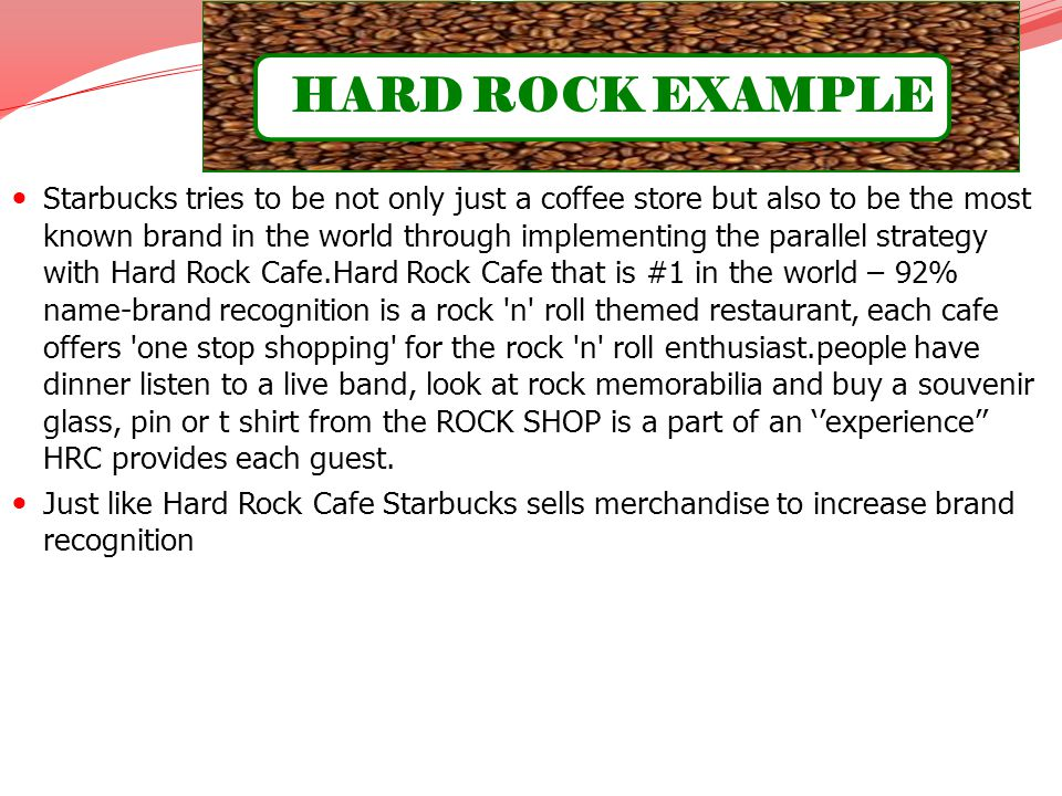HARD ROCK EXAMPLE