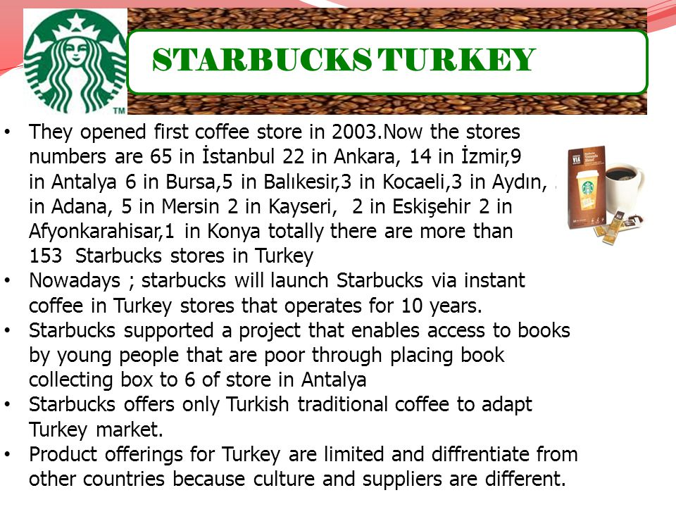 STARBUCKS TURKEY