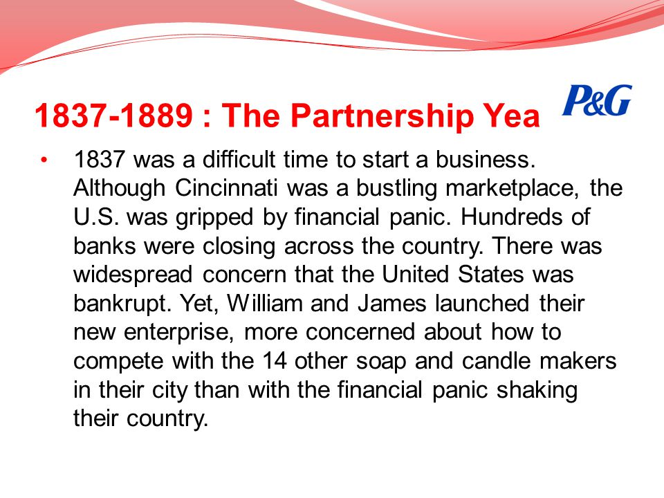 1837-1889 : The Partnership Year