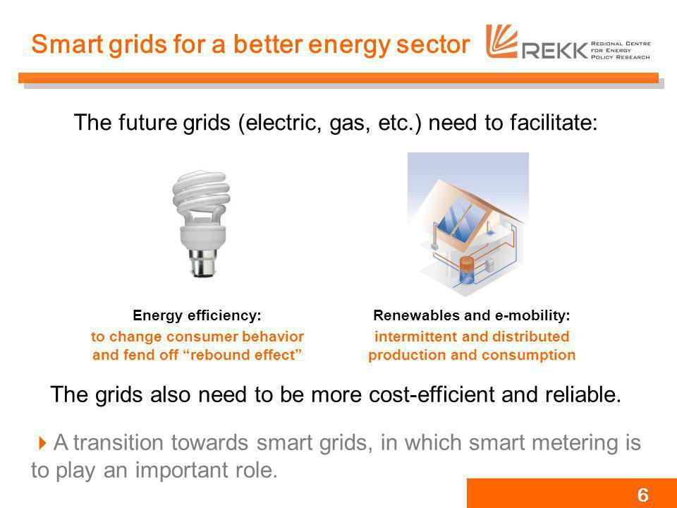 Smart grids for a better energy sector
