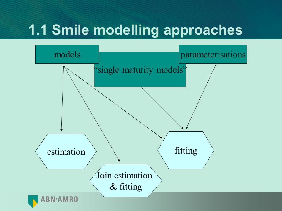 1.1 Smile modelling approaches