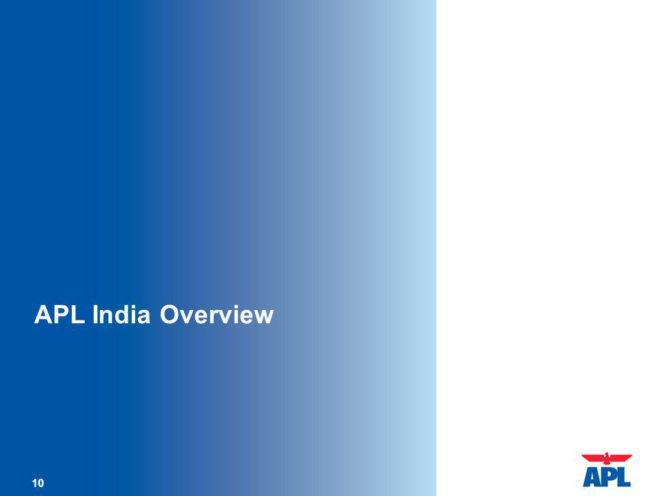 APL India Overview 10 10