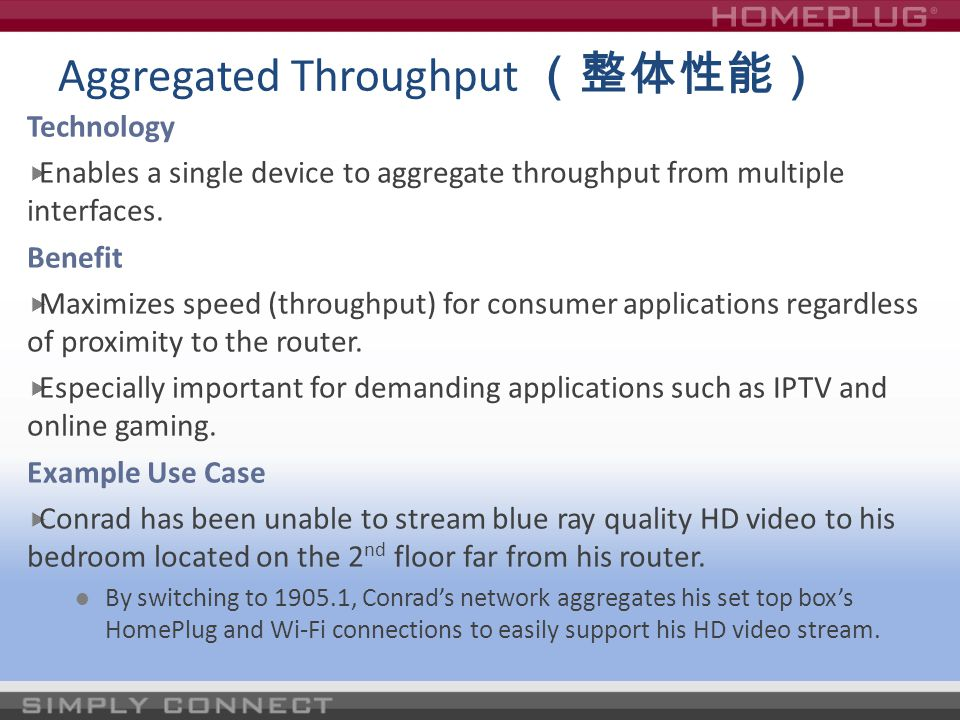 Aggregated Throughput (整体性能)