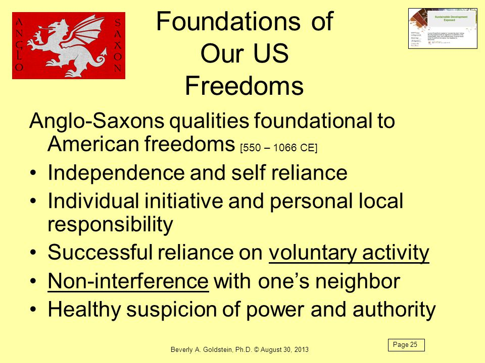 Foundations of Our US Freedoms