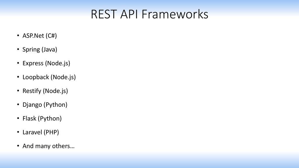 RESTful Web Services  - ppt download