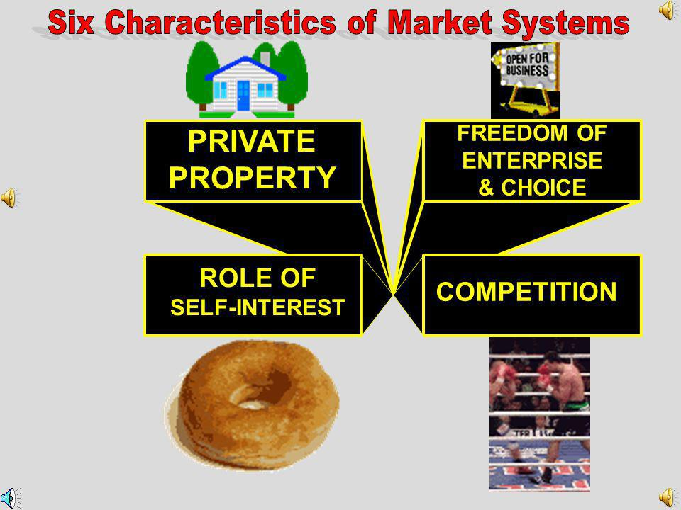 Six Characteristics of Market Systems