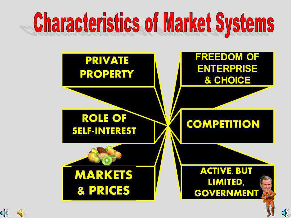 Characteristics of Market Systems