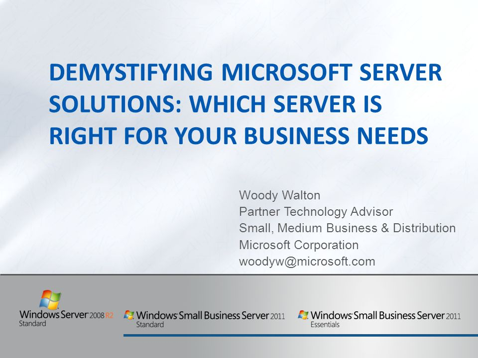Demystifying Microsoft Server Solutions: Which Server is Right for Your Business Needs