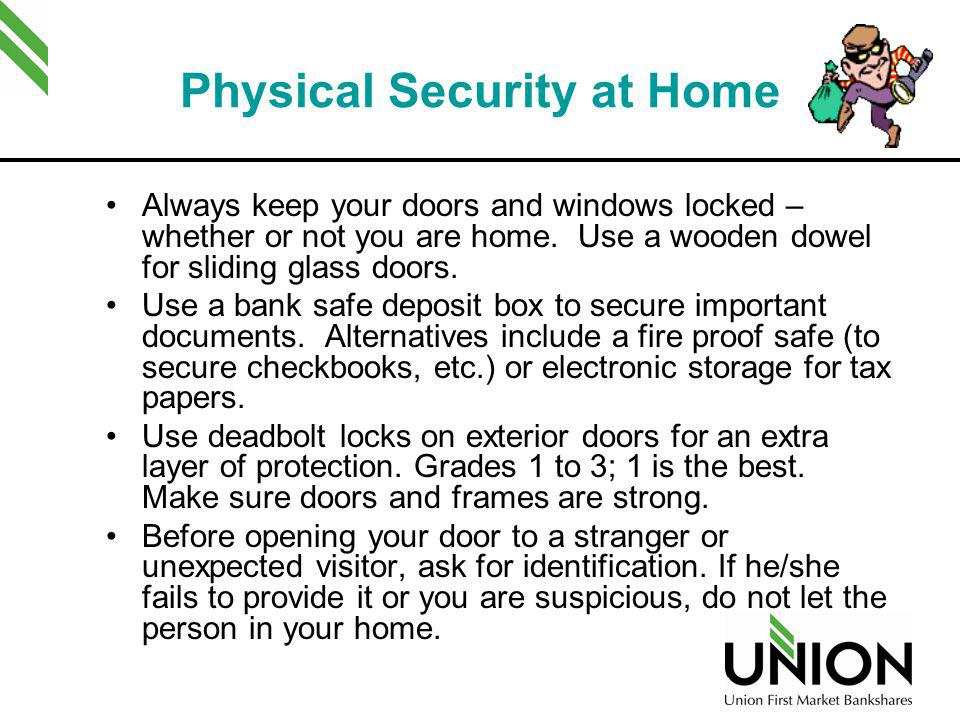 Physical Security at Home